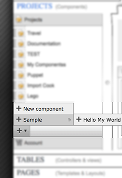 Sample component Hello My World